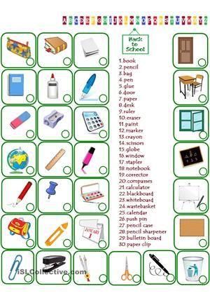 matching exercise - ESL worksheets