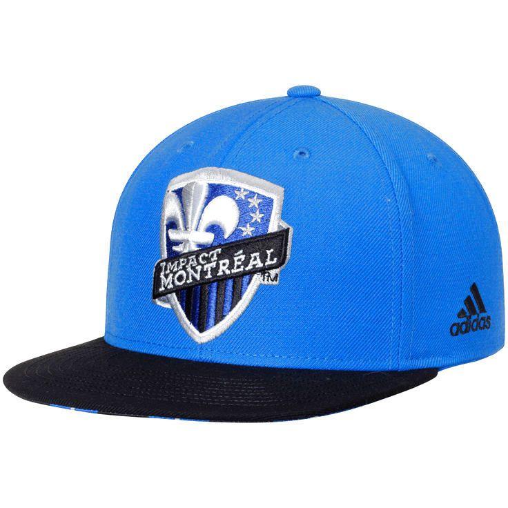 Montreal Impact adidas Jersey Hook Snapback Adjustable Hat - Blue - $20.79