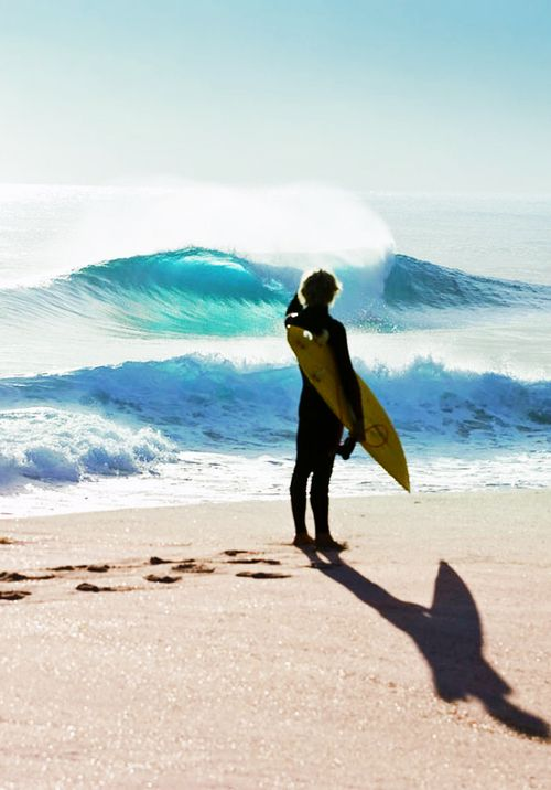 M'essayer au surf