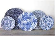 blue and white dishes - Bing Images