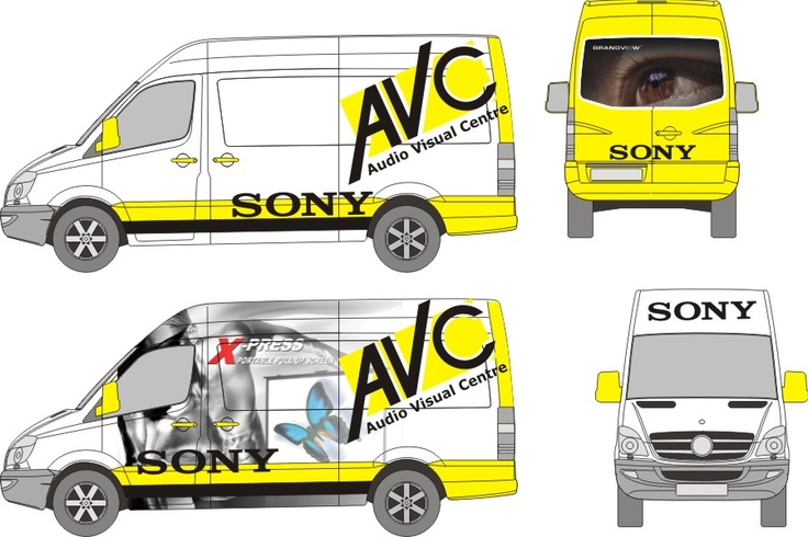 AVC Vehicle Wrap Design