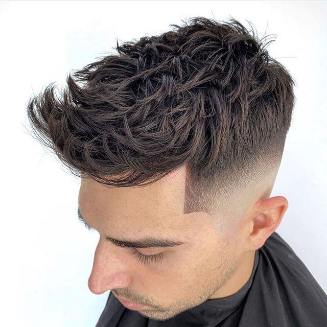 50 Kuhle Manner Rasierte Seiten Frisur In 2020 Rasiert Seite Frisuren Mannerhaare Frisuren