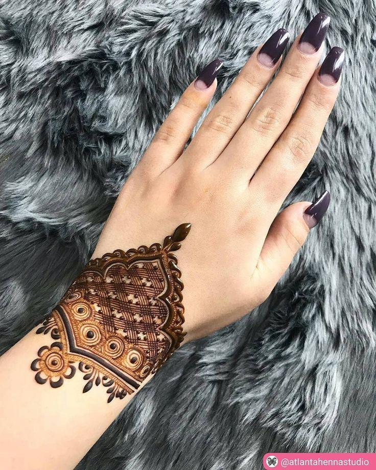 "174 Beğenme, 3 Yorum - Instagram'da imehndi.com (@imehndicom): ""Henna for wrist  artist :@atlantahennastudio #henna #mehndi #hennaart #naturalhenna #hennaartist…"""