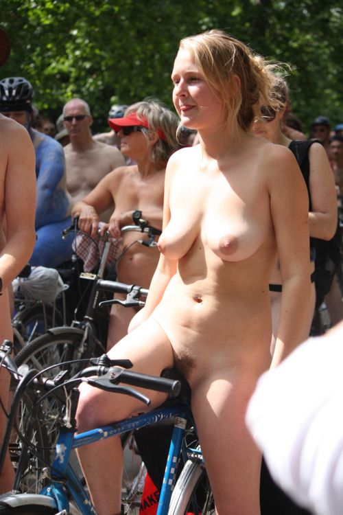 Naked and famous: How the World Naked Bike Ride took
