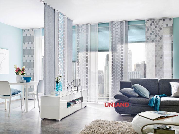 unland calvin mit plissee vorhang fensterideen gardinen und sonnenschutz curtains contract. Black Bedroom Furniture Sets. Home Design Ideas