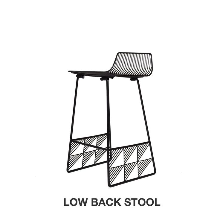 Beach House Counter Stools Part - 47: Low Back Counter Stool - Woonwinkel - 1