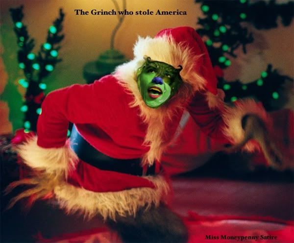 obama grinch | Obama Grinch