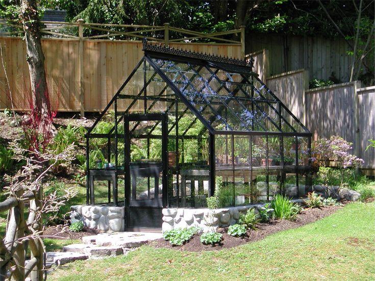 http://www.gothicarchgreenhouses.com/cape-cod-greenhouses.htm, 8' x 12'  Greenhouse (black)