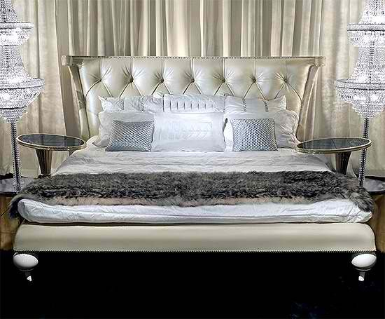 gorgeous luxurious tufted silver headboard sleepys bedfirst - Sleepys Bed Frame