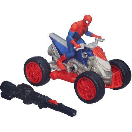 Marvel Ultimate Spider-Man Blast 'N' Go ATV Vehicle