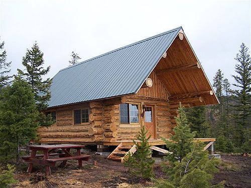 Montana mobile cabins tiny house love small space design for Cabin builders montana