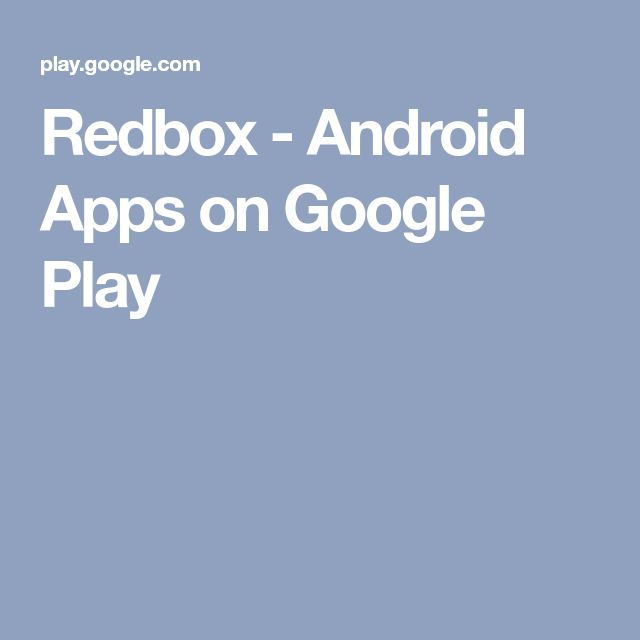 Redbox - Android Apps on Google Play