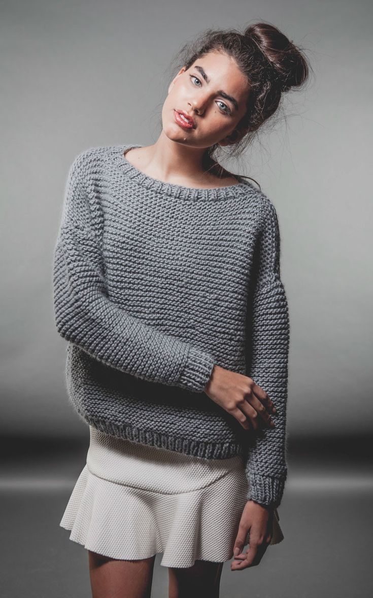 Classic Sweater - Buy Wool, Needles & Yarn Sweaters - Buy Wool, Needles & Yarn Knitting kits | WE ARE KNITTERS
