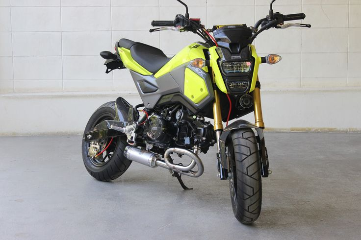 New 2017 Honda Grom & MSX 125 Exhaust Systems Released by Tyga!   Honda-Pro Kevin