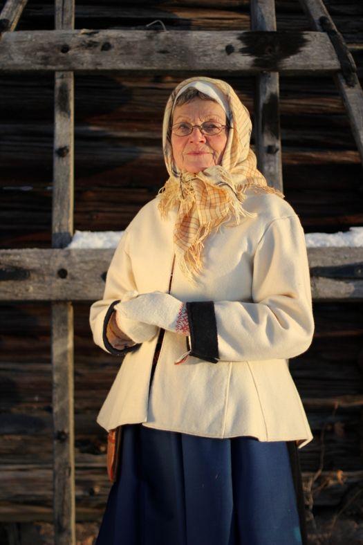 Woman from Sollerön, Dalarna.