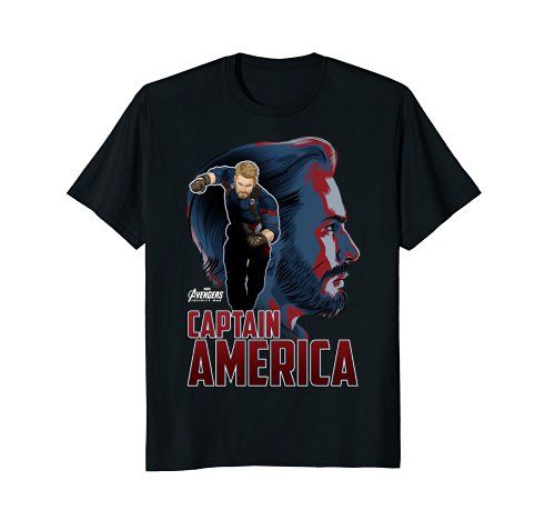Some fresh Marvel just in!  Marvel Infinity War Captain America Profile Graphic T-Shi... https://www.amazon.com/dp/B07B6NCG3J/ref=cm_sw_r_pi_dp_U_x_8tANAb81Z4F9T