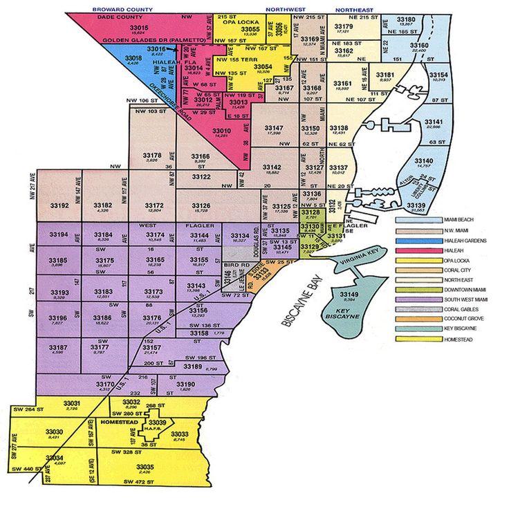 palm beach county zip codes list - google search   miami