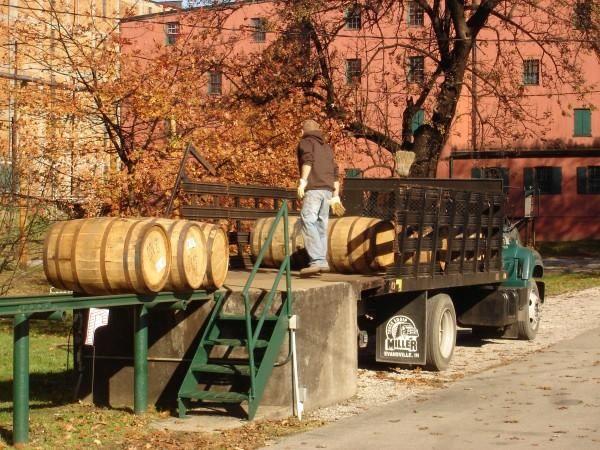 Buffalo Trace Distillery in the fall!