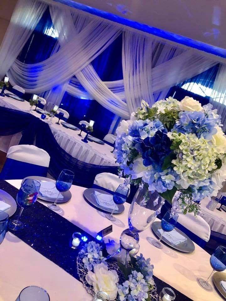 Pin By Latonya Melton On Royal Blue And Gold Wedding Blue
