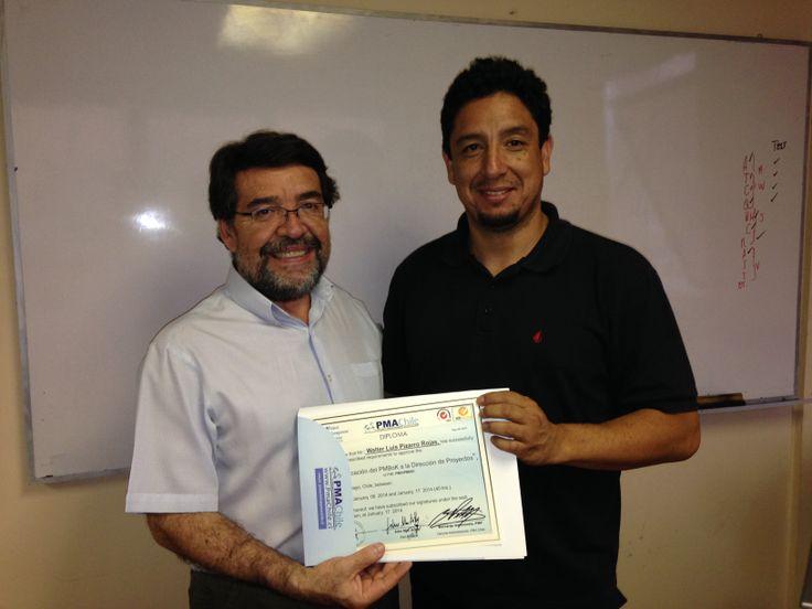 Felicitaciones Walter Pizarro!!!