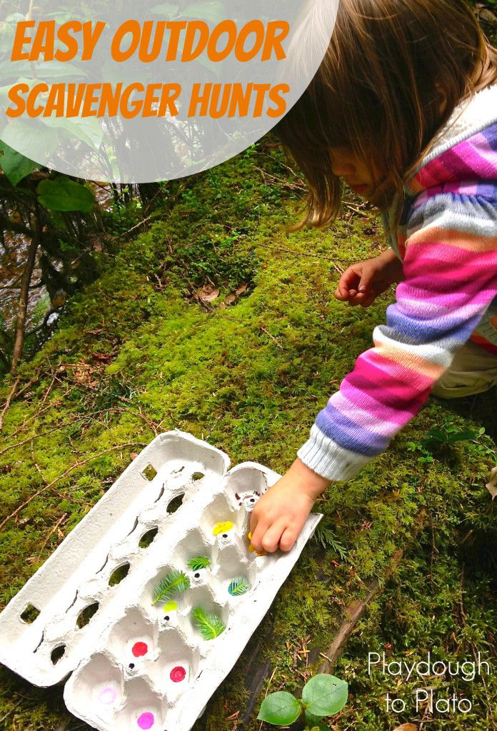 Activities for ages 3 to 7. Tis the season for all things outdoors.  To keep my 4 year old daughter, A, engaged during long hikes and jaunts on the beach, I've loaded our activity bin with several easy outdoor scavenger hunts.  {There is something about the thrill of the hunt that never fails to motivate my 4 year …