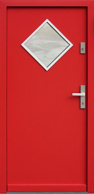 Drzwi zewnętrzne drewniane 543,5 produkcji AFB-Kraków