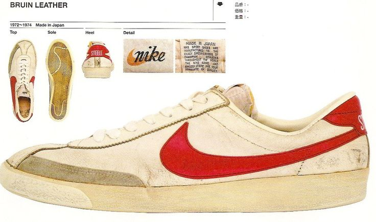 White with the red swoosh, or white with the blue. Those were your only two choices. And really, who would choose the blue?