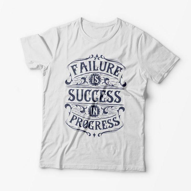 Tricou Personalizat Failure is Success in Progress