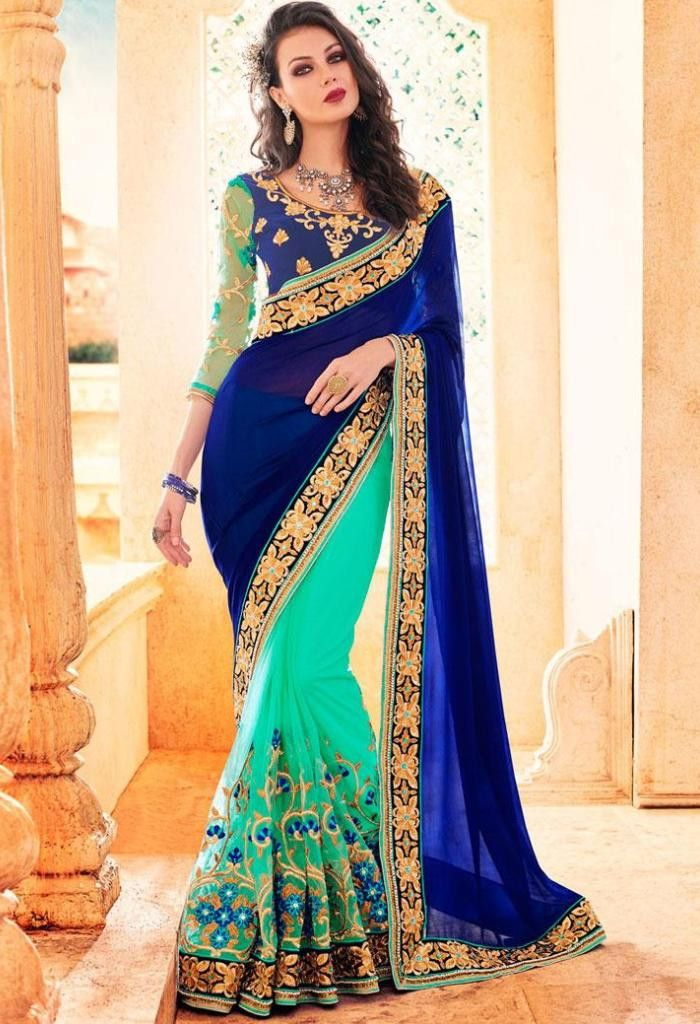 Product Code 42002 Weight 2 KG Delivery Days 20 Days Fabric Georgette, Net Blouse Fabric Velvet Occasion Traditional, Party Wear Work Embroidered PLEASE NOTE due to various types of lightings & flash