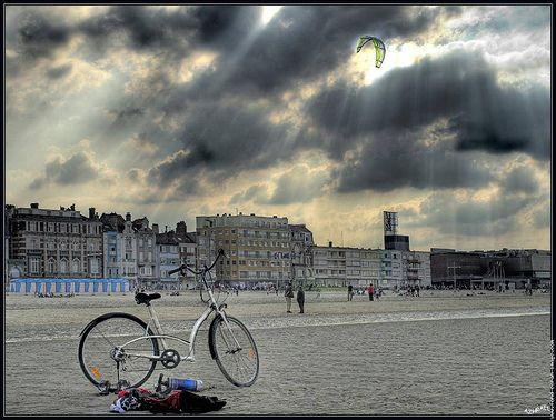 Dunkerque plage et front de mer