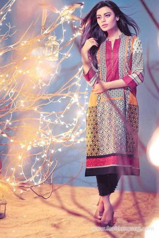 Ethnic by Outfitters Eid Clothes 2014 In Stores