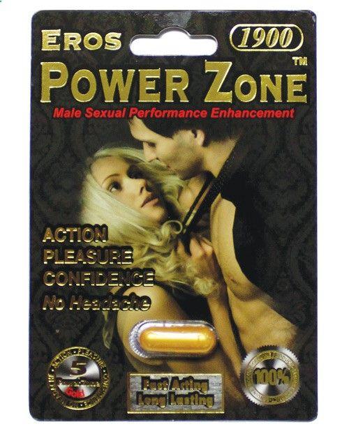 Eros Power Zone 1900 - 1 Capsule Blister