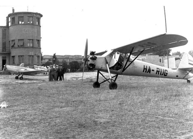 A győri repülőtér - Győri Szalon