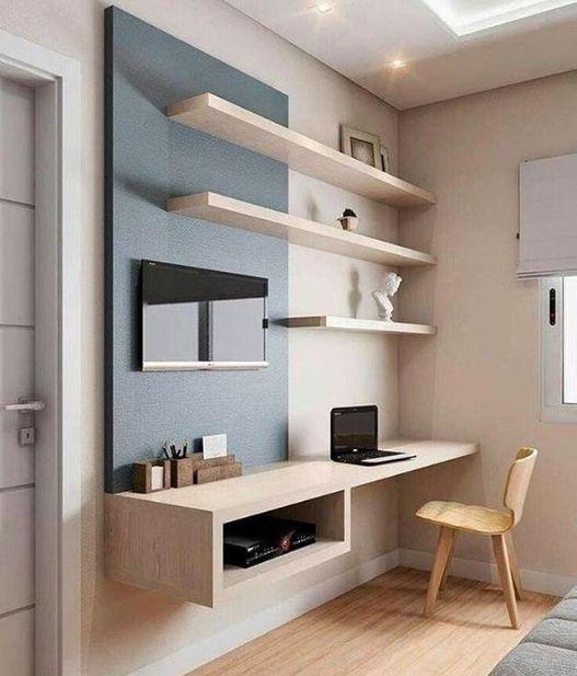 | Kreativer Arbeitsbereich | Schönes Home Office …