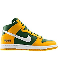 the latest b929d 179ae ... NIKEiD is custom making this Nike Dunk High (NFL Green Bay Packers) iD  Mens ...