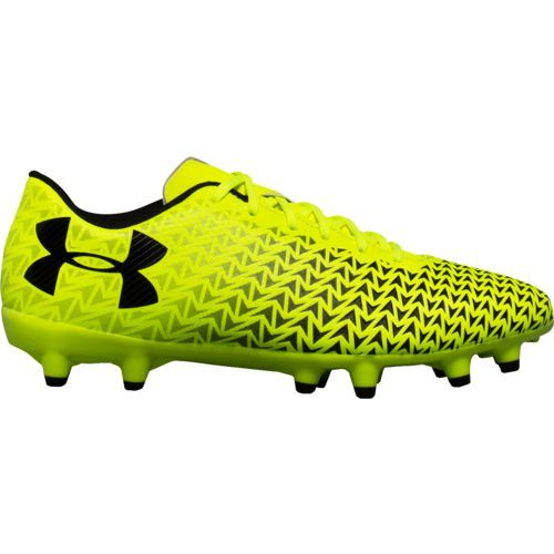 Under Armour Boys' UA CF Force 3.0 FG Jr. Soccer Cleats (Gold/Black, Size 2) - Youth Soccer Shoes at Academy Sports