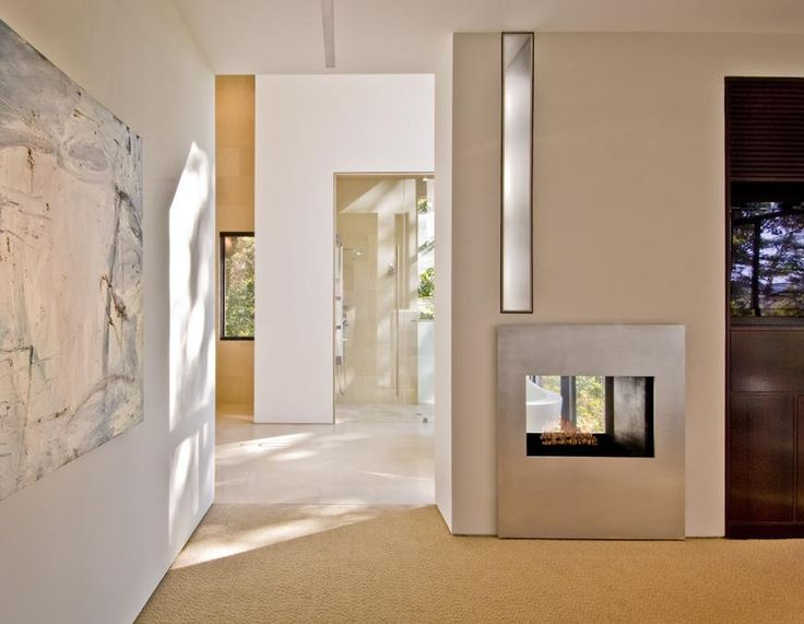 Modern Architectural Fireplaces 462 best double sides fireplace images on pinterest | fireplaces