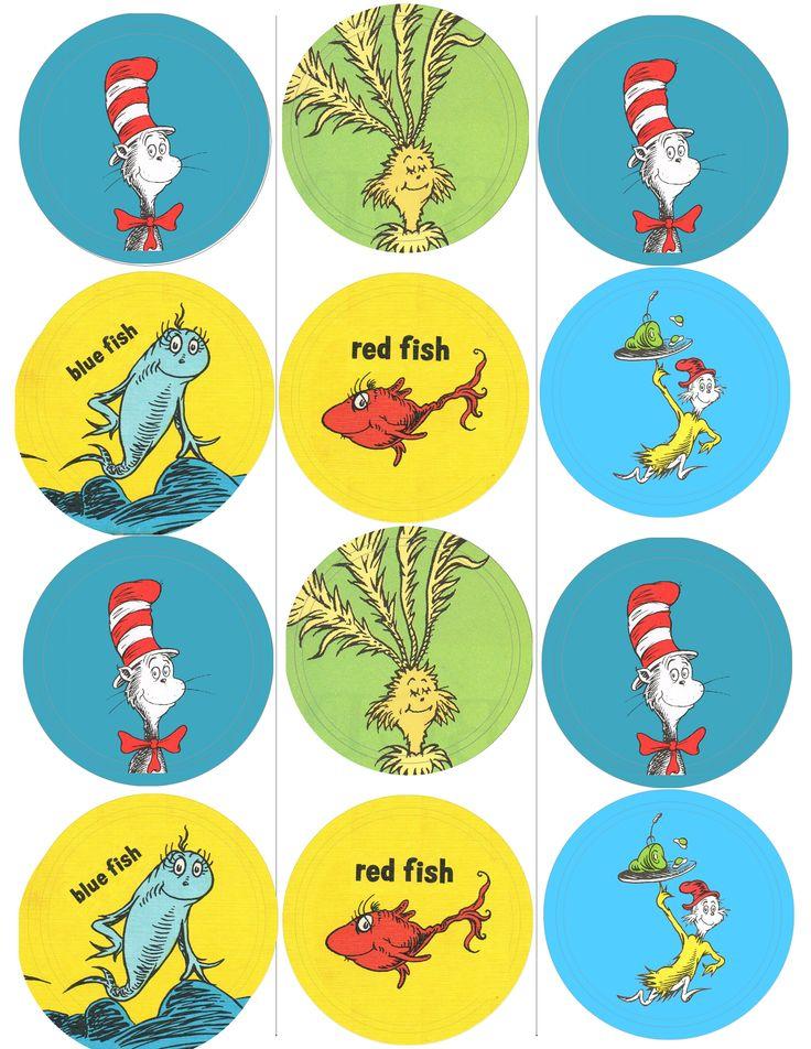 1000 Images About Diy Dr Seuss Free Printables Party