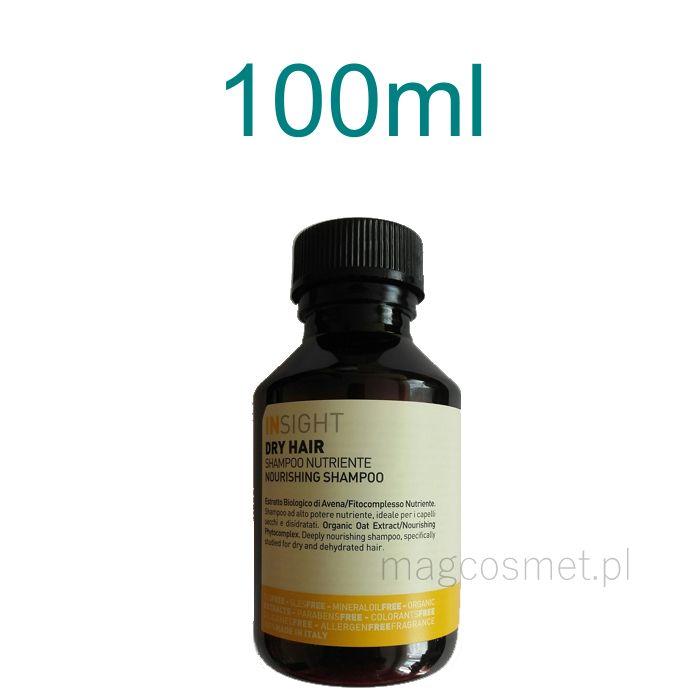 Insight Dry Hair Szampon Odżywczy 100ml Pielęgnacja włosów - szampony naturalne