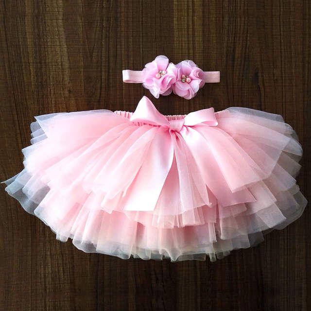 Bébé Filles Bébé Pettiskirt Tutu Princesse Jupe de bal Dancewear Party Costume
