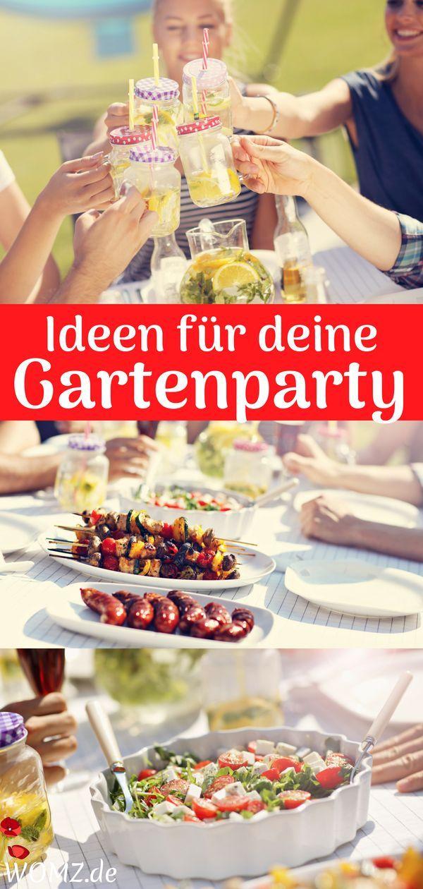 Gartenparty Planen Ideen Für Unterhaltung Deko Essen Uvm