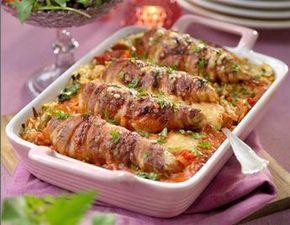 Såsen med smak av chilisås och kalvfond ger kycklinggratängen god smak och fyllighet.