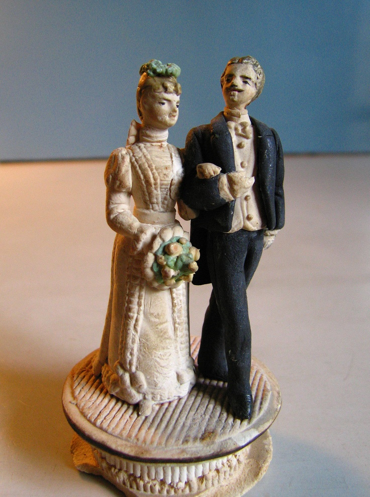wedding cake figurines 341 best images about vintage wedding cake toppers on 22610