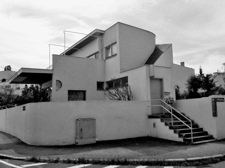 12 best mies van der rohe weissenhof housing exhibition. Black Bedroom Furniture Sets. Home Design Ideas