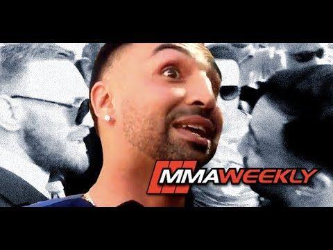 MMA Paulie Malignaggi Addresses Conor McGregor Grand Arrival Confrontation