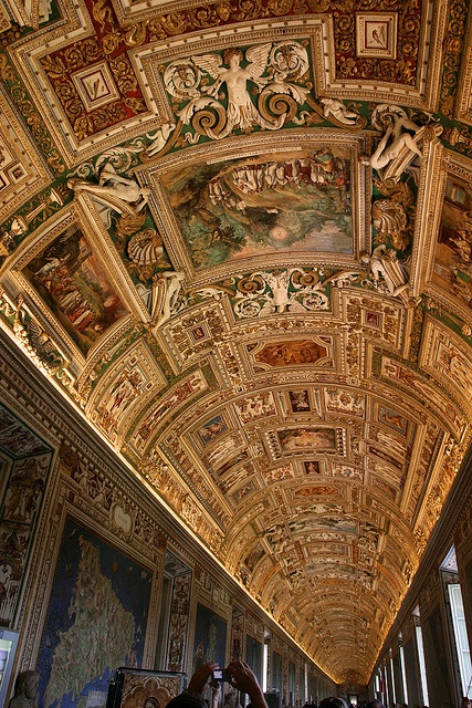 Vatican Museum Hallways by nathangibbs, via Flickr