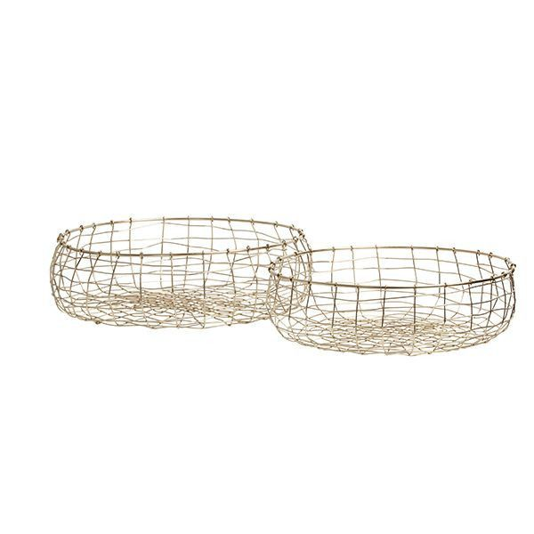 Brass Fruit Basket