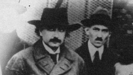 Albert Einstein y Nikola Tesla, 1943. ¡Dos de los intelectos más grandes del mundo!
