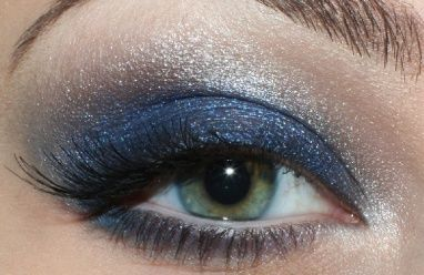 navy and silver-would look fantastic on you, Annie