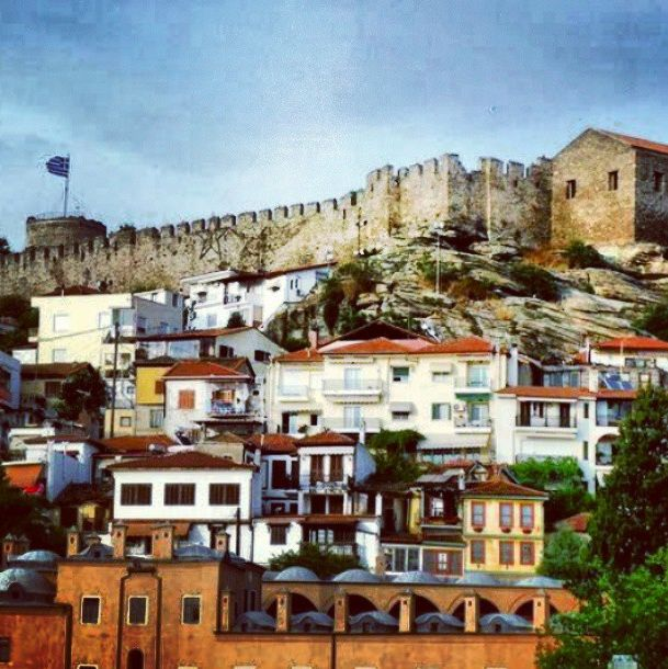 Kavala City - Old Town #kavalacity #oldbuildings #Greece #imaret